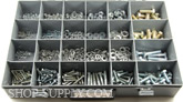 "Grade 5 Cap Screw Assortment. It covers 1/4"" to 1/2"" Nuts, Flat and Lock Washers"