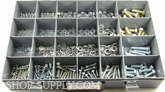 Grade 8.8 Metric Cap Screw Assortment. It covers 5mm to 12mm Nuts, Flat and Lock Washers