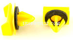 Yellow Nylon Moulding Clips G.M. # 10297371