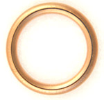 16mm Copper Crushable Gasket