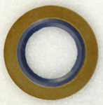 14mm Ford Metal And Rubber Gasket Blu