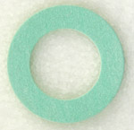14mm Fiber GREEN Synthetic Gasket