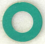 "1/2"" Fiber GREEN Synthetic Gasket"
