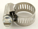 "#6 Hose Clamp, Min. 3/8"", Max 7/8"""