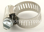 "#8 Hose Clamp, Min.7/16"", Max 1"""