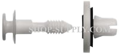 Yellow Nylon Door Panel Retainer Clips with Sealer Compatible W// GM 11562044