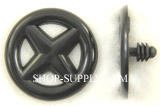 Black Nylon Hood Insulation Clips Nissan # 65846-30F00