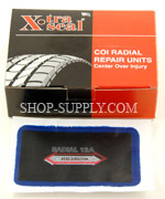 "2"" x 3"" Radial, 1 Ply Tire Patches"