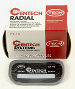 "3"" x 1 3/4"" Nylon Re-Inforced Tech Tire Patches"