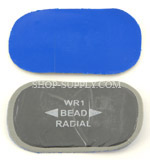 Cord Re-Inforced Radial Tire Patch,