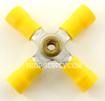 Yellow 12 - 10 Gauge Nylon 4-Way