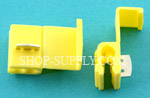 Yellow 12 - 10 Gauge Nylon Quick Splice